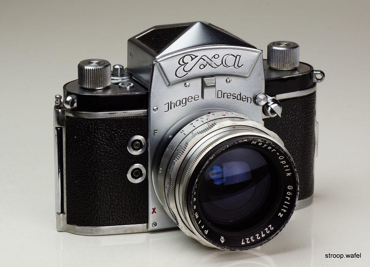 Ihagee Exa IIb - 1964 35mm SLR Camera - Body Only - Spares/Repair ...