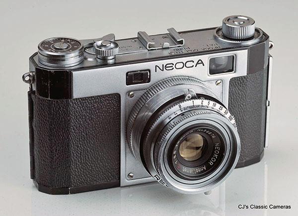 Soligor 45 RF Rangefinder 35mm Film Camera with its 40mm f4.5 Standard Prime Lens NiCE !